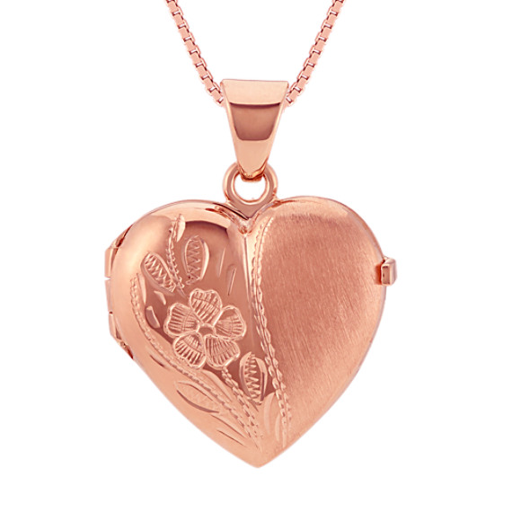 heart lockets quot silver necklace dp picture engraved four sterling locket