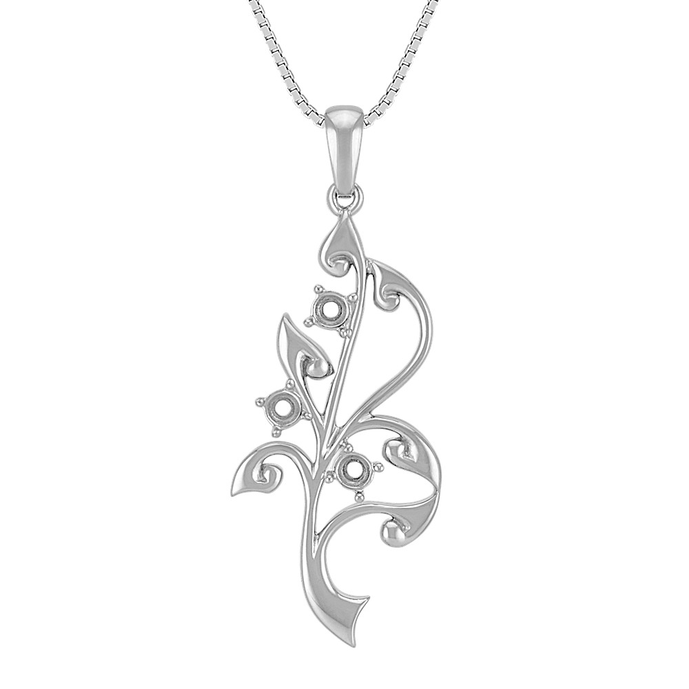 and rose large tree pendant p beaverbrooks white gold context
