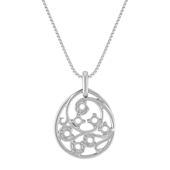 Family Collection Swirl Pendant