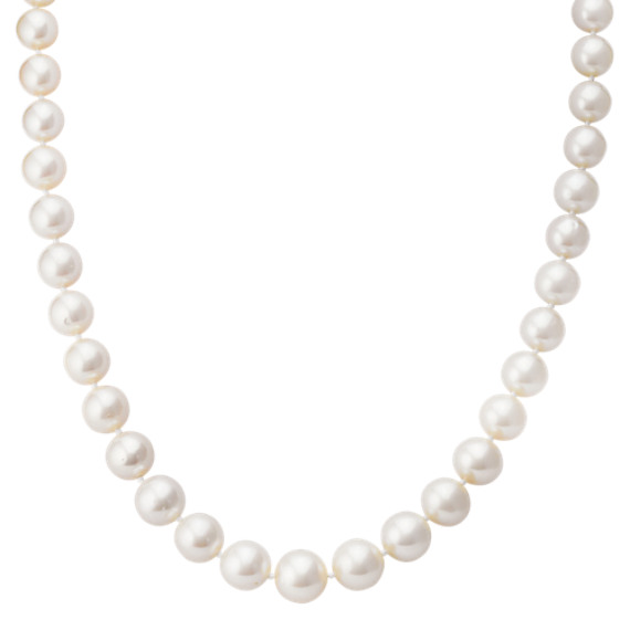 Graduated 7-11mm Cultured Freshwater Pearl Strand (18 in)