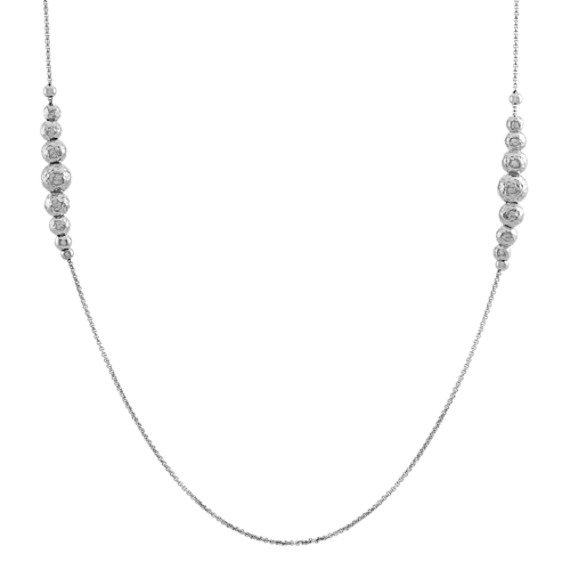 Graduated Station Necklace (34 in)