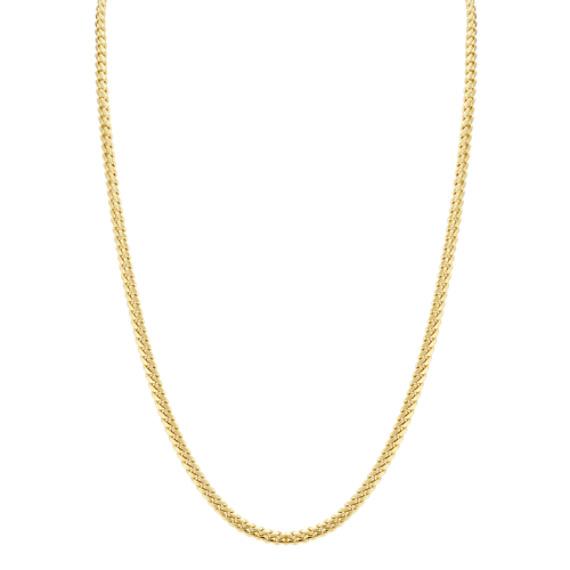 Miami Cuban Chain in 14k Yellow Gold (26 in)