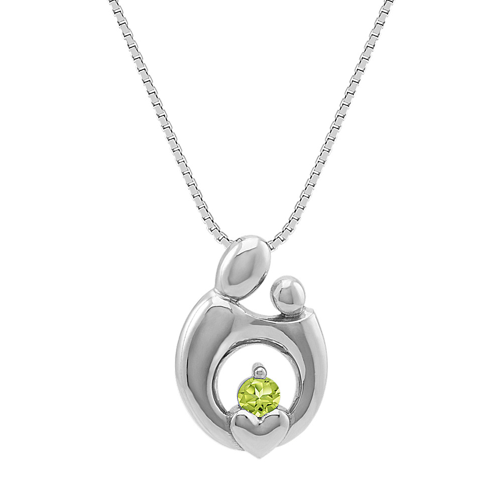 pendant light heart silver urns child in urn the mother