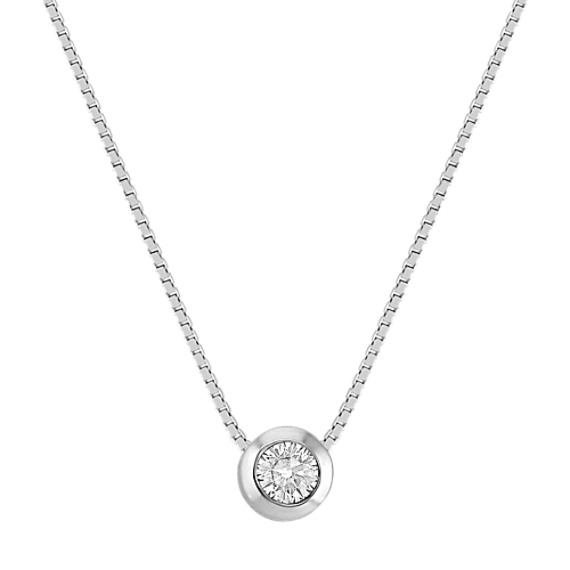 jewelure cz border necklace silver solitaire pendant necklaces set collections braided