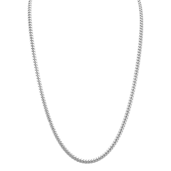 Sterling Silver Curb Chain (24 in)
