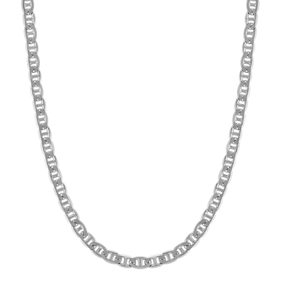 Sterling Silver Mariner Necklace (24 in)