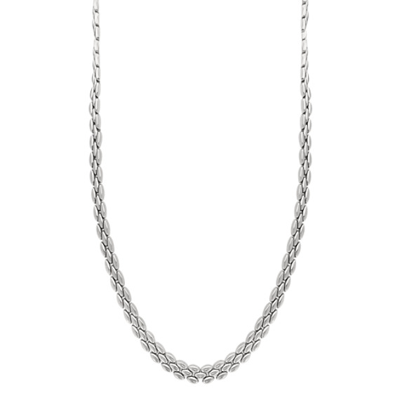 Sterling Silver Necklace (17 in)