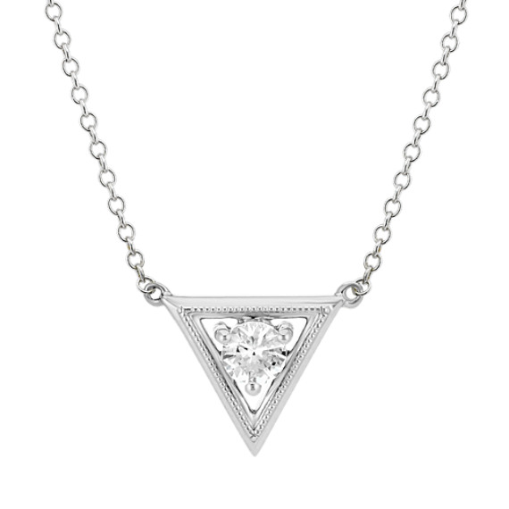 sterling heart m necklace in shane and co white necklaces silver sapphire p
