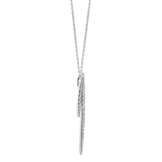 Graduated Diamond Bars Pendant (18 in) image