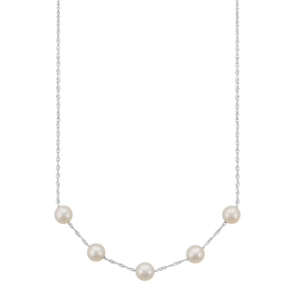 6.5mm Cultured Freshwater Pearl Necklace (18 in.)