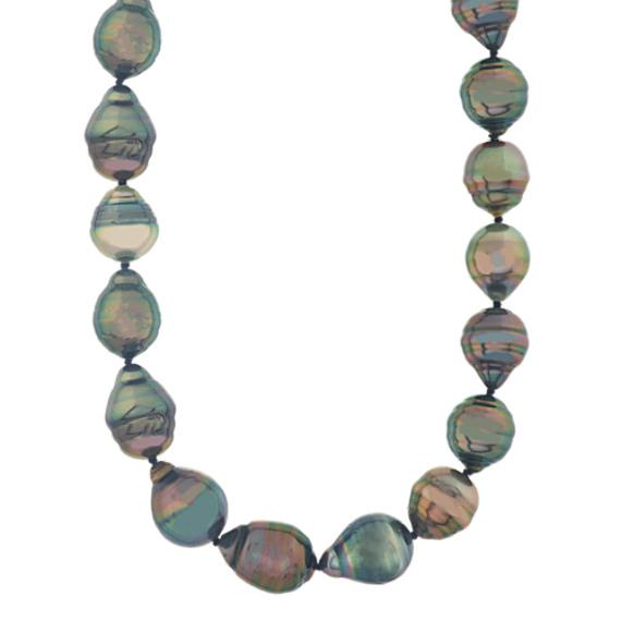 9mm Cultured Tahitian Pearl Strand (18 in)