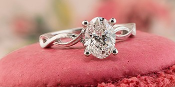 Seven signature holiday engagement rings