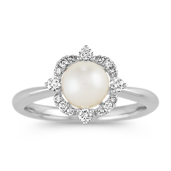 d2f0c89d5 Pearl Fashion Rings and more Fine Jewelry | Shane Co.