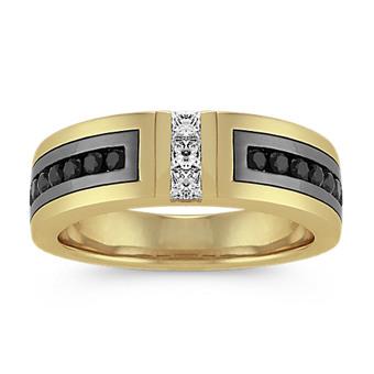 a6204696cd20c Men's Yellow Gold Wedding Bands | Men's Wedding Rings | Shane Co.