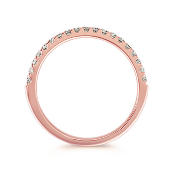 808a78bd03637 Shop Our Beautiful Collection of Rose Gold Wedding Bands | Shane Co.