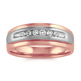 Shop Men S Rose Gold Wedding Bands Men S Wedding Rings Shane