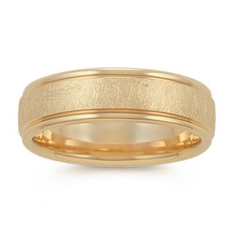 Men S Yellow Gold Wedding Bands Men S Wedding Rings Shane Co