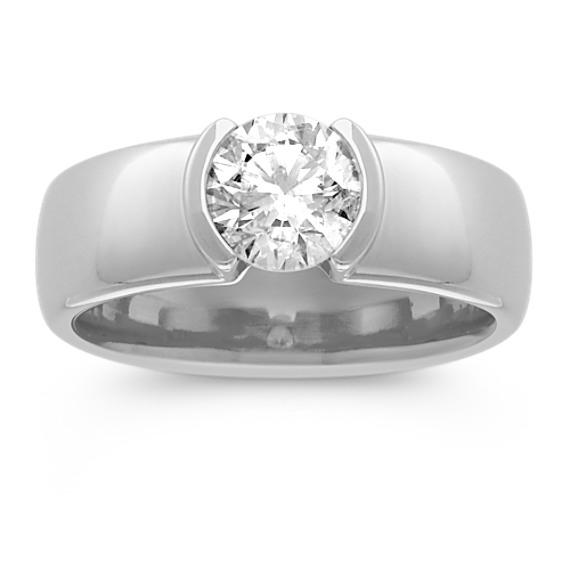 1 ct. Round Center Diamond Engagement Ring