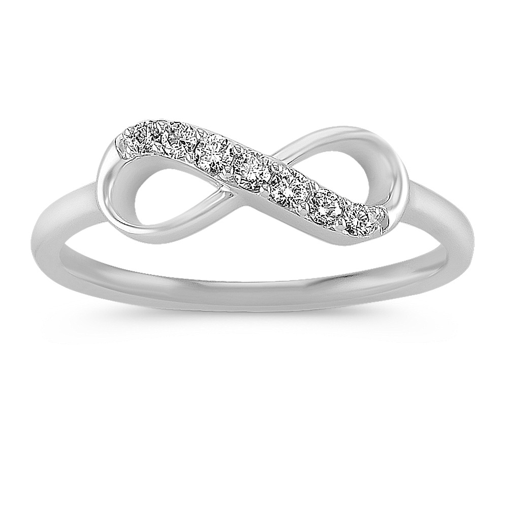infinity diamond sisteron gold w small products ring white anne online buy