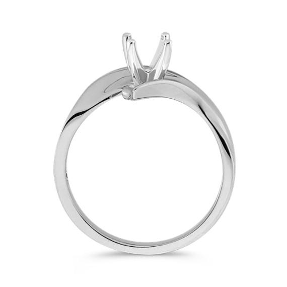 14k White Gold Ring image