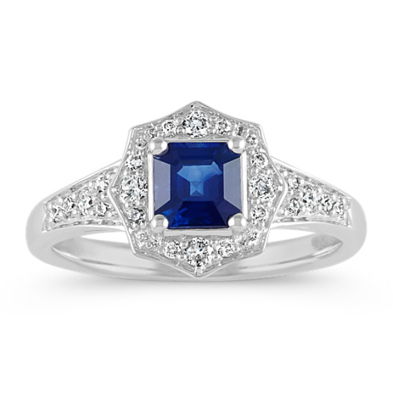 rings s cut white asscher sapphire sz loading m image itm is cz blue promise gold filled