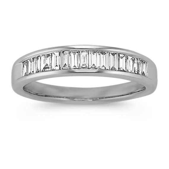 Baguette Diamond Classic Wedding Band