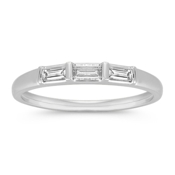 Baguette Diamond Wedding Band | Shane Co.
