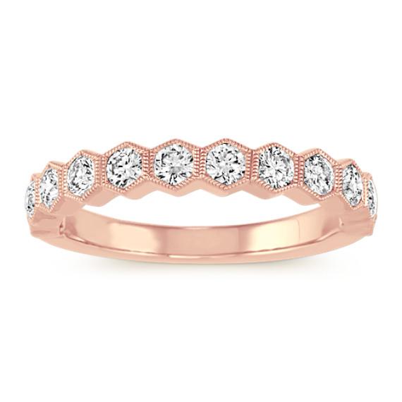 Bezel-Set Diamond Ring