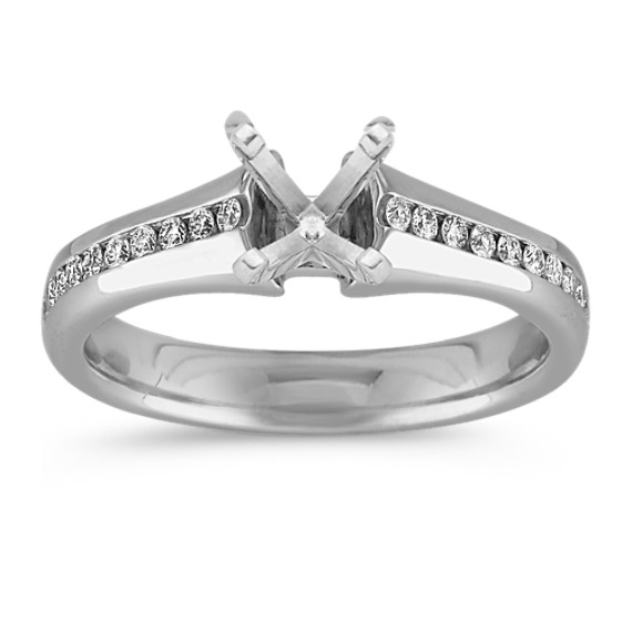 Channel-Set Classic Engagement Ring