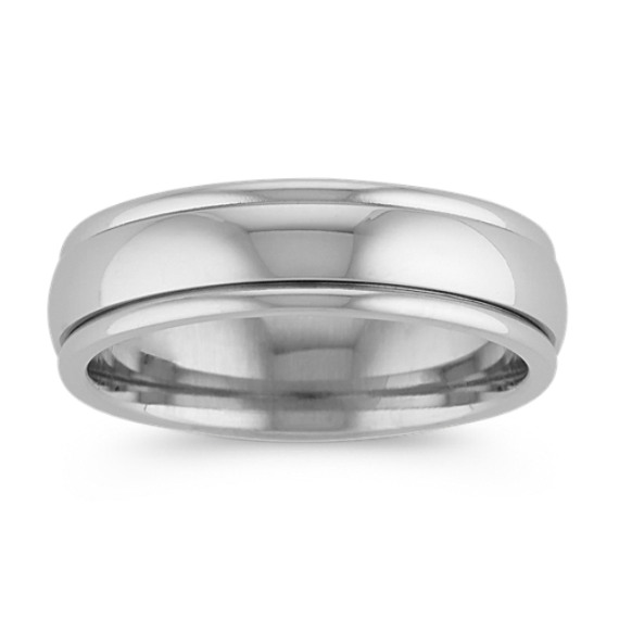 Classic 14k White Gold Band (6mm)