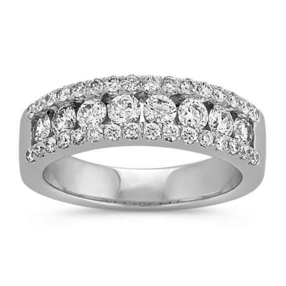 Classic Channel-Set Round Diamond Wedding Band