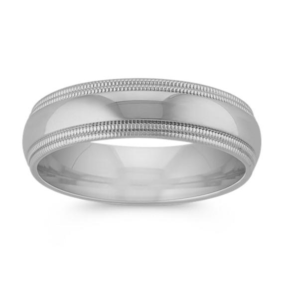 Classic Comfort Fit Mens Ring (6mm)
