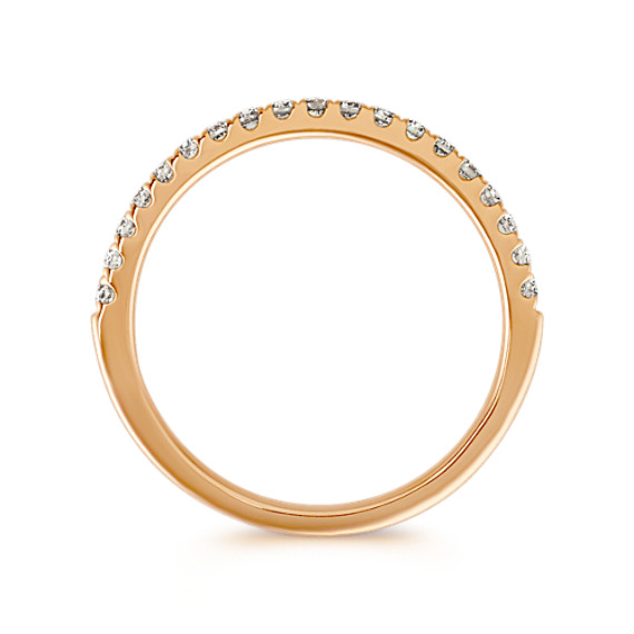 Classic Diamond Wedding Band in 14k Yellow Gold image
