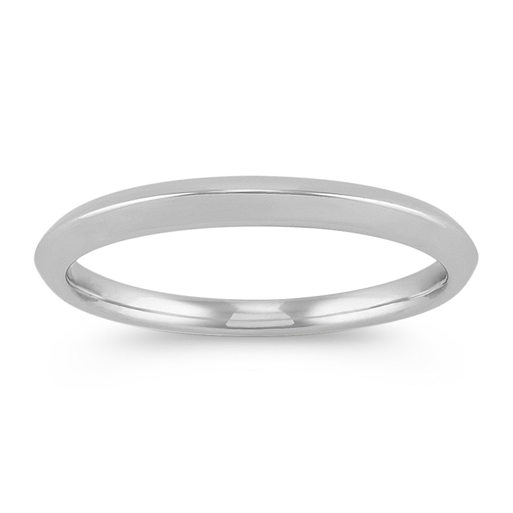 Classic Knife Edge Wedding Band In Platinum: Knife Edge Platinum Wedding Band At Websimilar.org