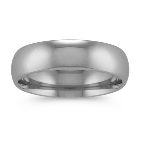 cbae1871942699 Classic Mens Wedding Band in Platinum (6mm) | Shane Co.