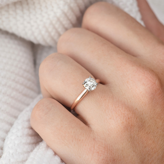 Classic Solitaire Engagement Ring | Shane Co.