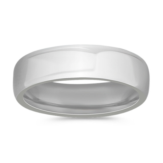 Cobalt Comfort Fit Ring (6.5mm)