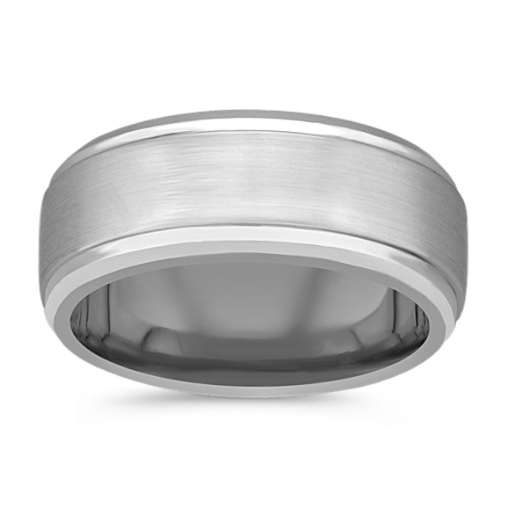 Cobalt Comfort Fit Ring (9mm)
