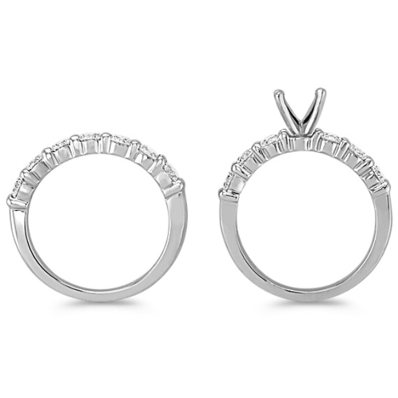 Diamond Platinum Wedding Set image