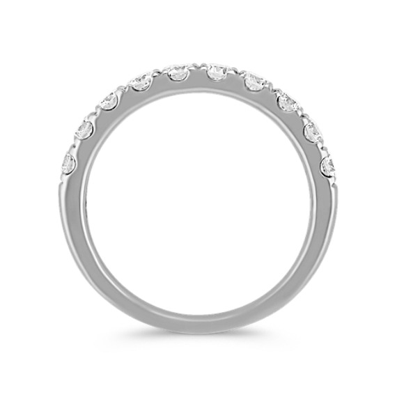 Diamond Wedding Band in 14k White Gold image
