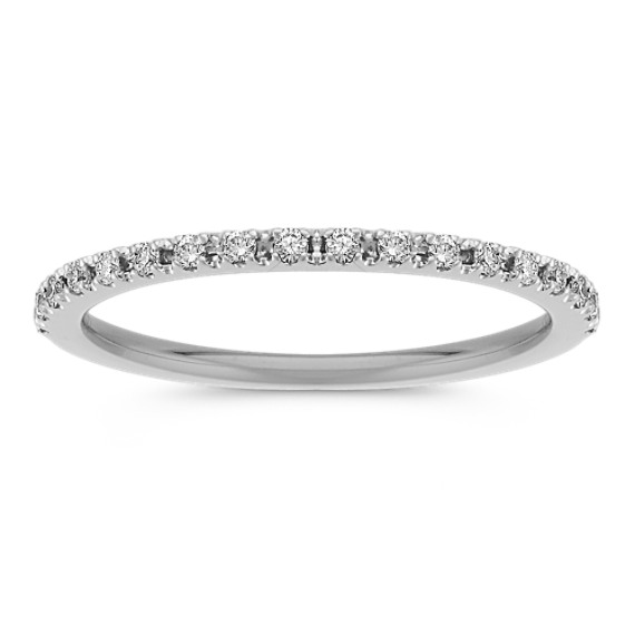 Diamond Wedding Band in Platinum