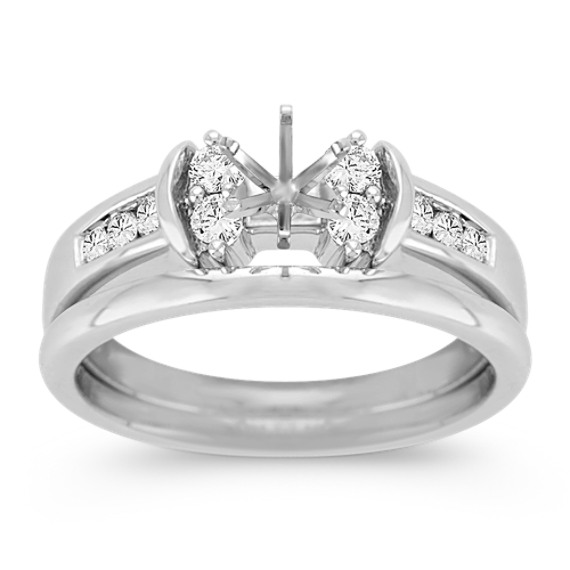 Diamond Wedding Set with Channel-Setting image
