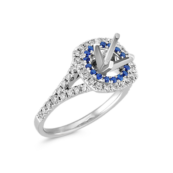 diamond engagement setting bands jewelers ring sapphire gabriel co freedman eng alternating and boston