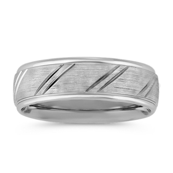 Engraved Comfort Fit Wedding Band (7mm)