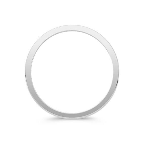 Fifteen Stone Round Diamond Wedding Band image