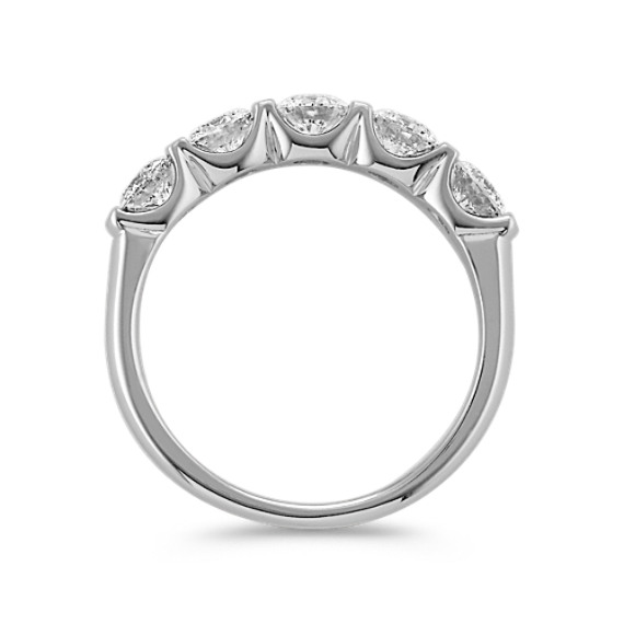 Five Stone Classic Diamond Band with Channel Setting image