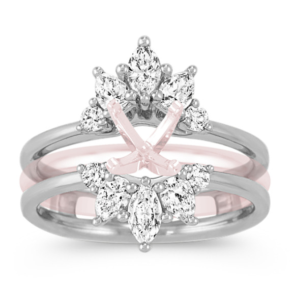 Floral Diamond Ring Guard