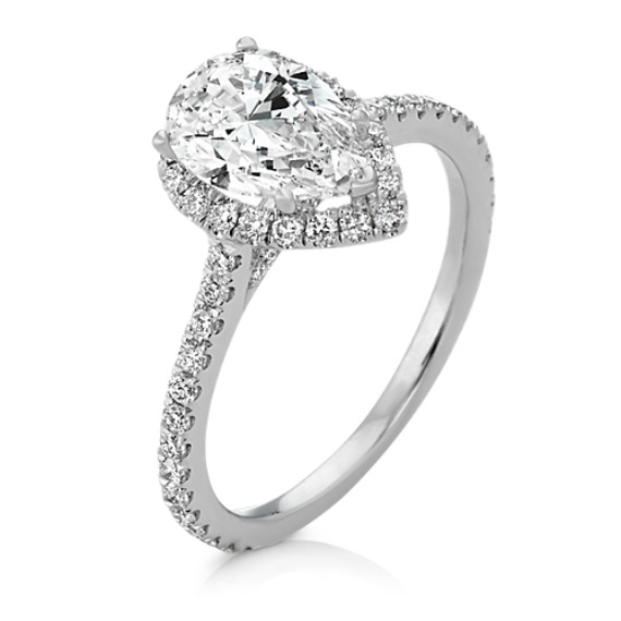 Bridal & Wedding Party Jewelry Well-Educated 1.50 Ct Pear Diamond Wedding Party Bridal Ring Band Set 14k White Gold Size 5 Engagement & Wedding