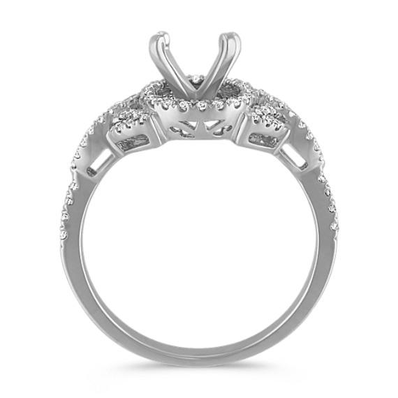Halo Round Diamond Ring image