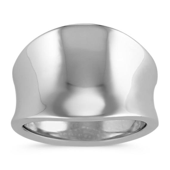 Modern Sterling Silver Fashion Ring